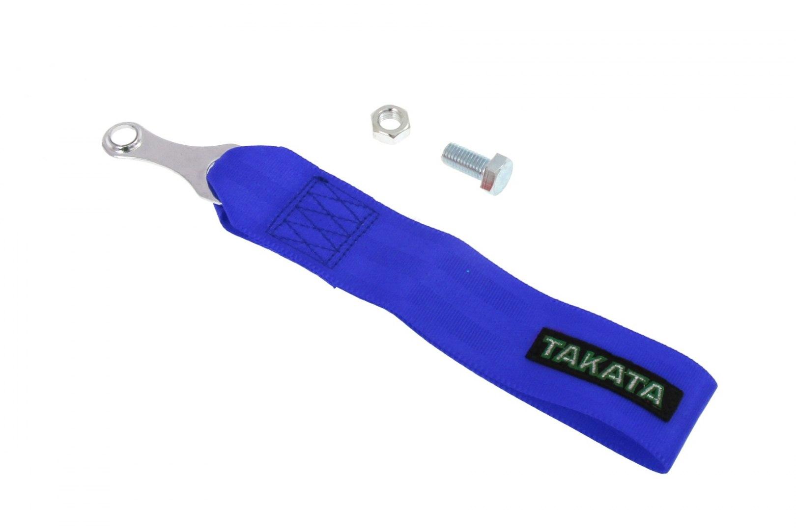 Pas / pętla holownicza (Tow Strap) Takata Niebieski - GRUBYGARAGE - Sklep Tuningowy